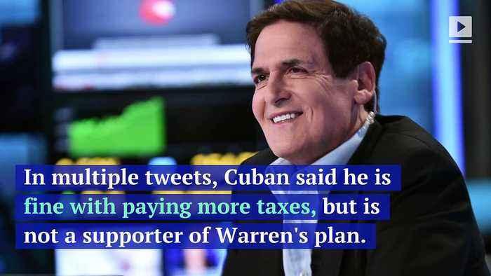 Mark Cuban Calls Elizabeth Warren's Wealth Tax Plan 'Unrealistic'