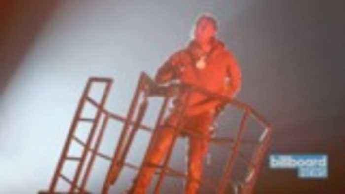 Travis Scott Brings Out Kanye West for Astroworld Festival Headlining Set   Billboard News