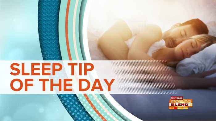 SLEEP TIP OF THE DAY: Unwind From Stress