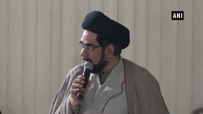 Shia cleric hails communities for maintaining harmony accepting Ayodhya verdict peacefully