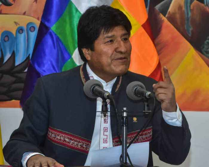 Evo Morales Steps Down as President of Bolivia