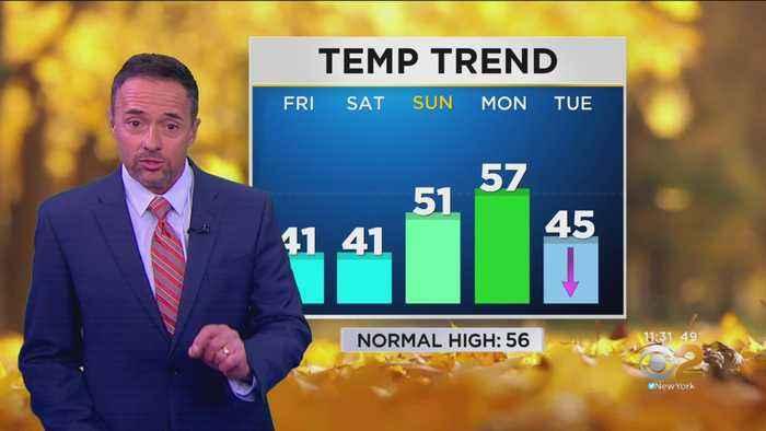 New York Weather: 11 p.m. Forecast
