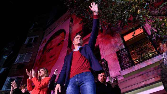 Socialists win most seats in Spain election, as far right surges