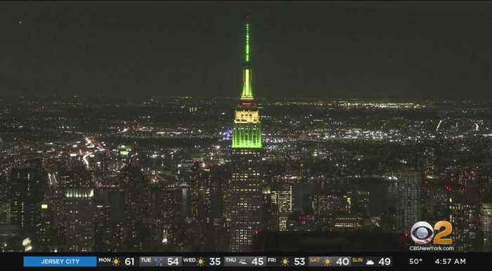 Empire State Building Celebrates Sesame Street Birthday