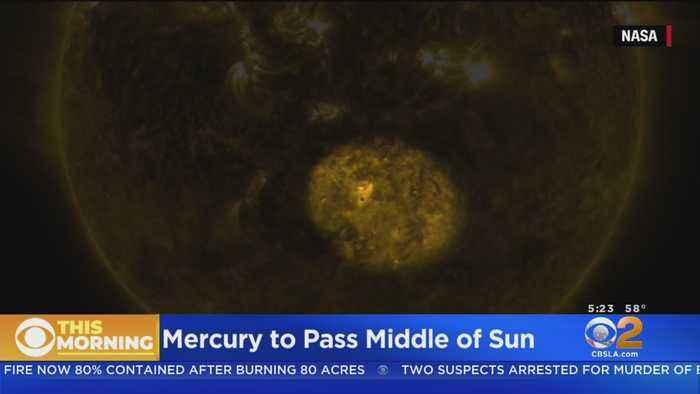 Mercury To Pass Across Middle Of Sun