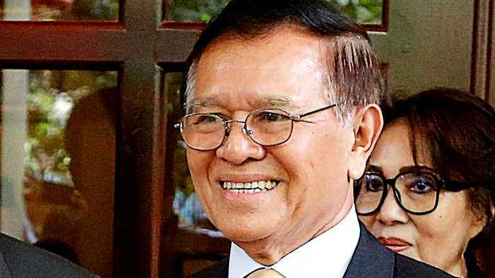 Cambodia: Opposition leader Kem Sokha out of house arrest