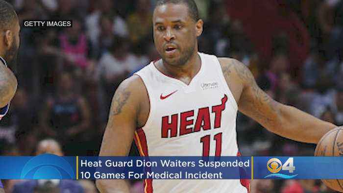 Heat Guard Dion Waiters Suspended For 10 Games After Medical Incident