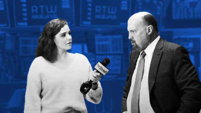 Jim Cramer on Caterpillar, Veterans Day and Apple and Goldman Sachs Credit Card