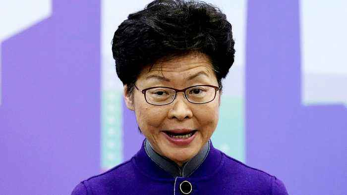 Hong Kong's Carrie Lam: Protesters now people's enemy