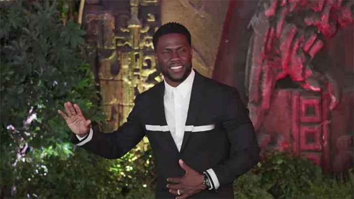 Kevin Hart makes first public appearance since his near-fatal accident