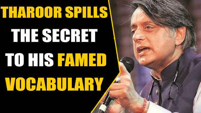 Shashi Tharoor's reply to a student seeking to learn a new word goes viral | OneIndia News