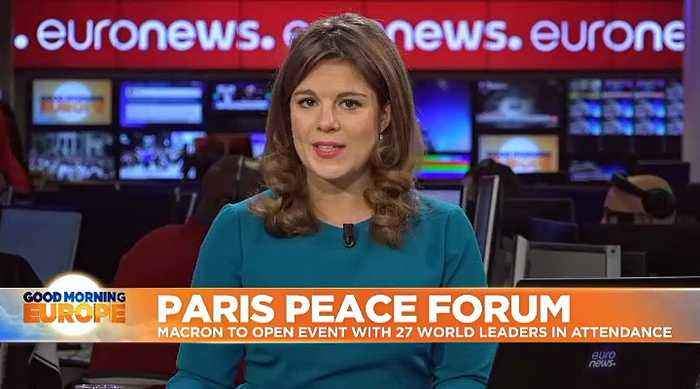 Paris Peace Forum: Macron attacks 'hypocrisy' over backlash to his NATO criticism