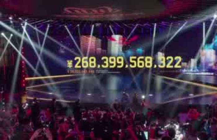 $38 bln in one day: New record for Alibaba's Singles' Day