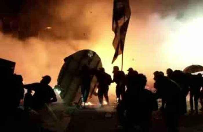 Hong Kong now on 'brink of total breakdown': police