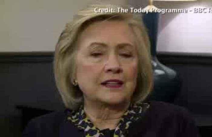 Clinton shames UK for not publishing Russian meddling report