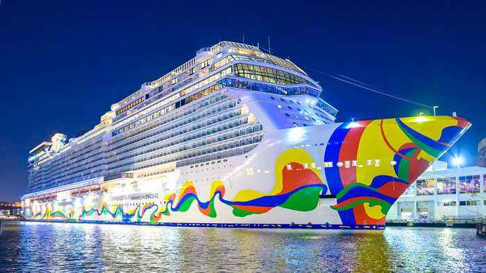 Norwegian Cruise CEO Touts New 'Encore' Vessel