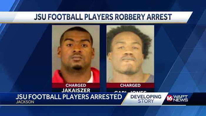 JSU football players face robbery charges