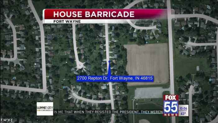 Fort Wayne Police arrest man after barricade situation