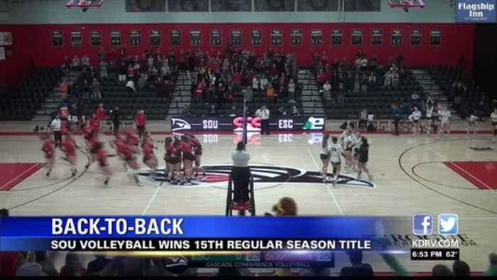 SOU volleyball wins second-straight CCC regular-season title