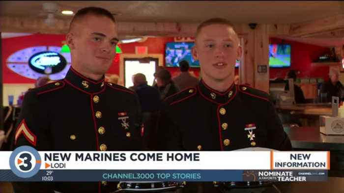 New Marines come home