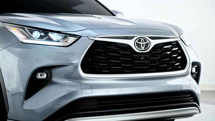 The new Toyota Highlander Exterior Design