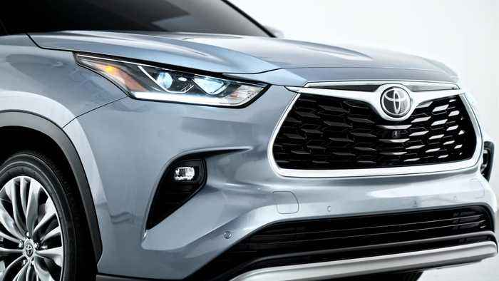 The new Toyota Highlander Design Preview