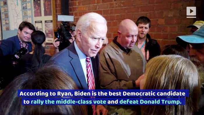 Former Presidential Contendor Tim Ryan Endorses Joe Biden
