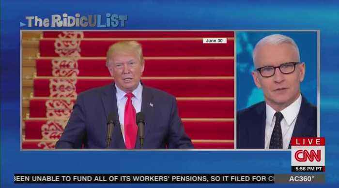 Anderson Cooper slams Nikki Haley for calling Trump 'truthful'