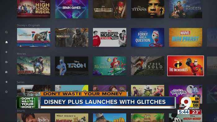 Disney Plus launches...but with some glitches