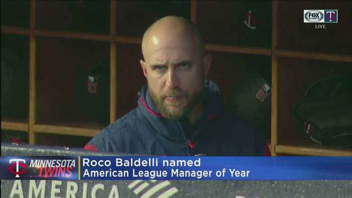 Twins' Baldelli Named AL Manager Of The Year