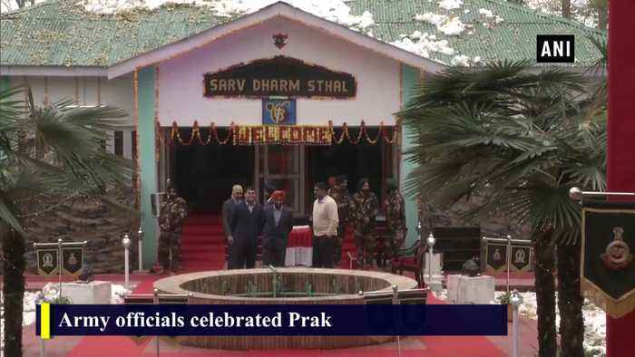 Army officials celebrate 550th birth anniversary of Guru Nanak Dev