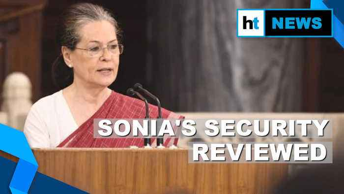 After Gandhis lose SPG cover, CRPF reviews security arrangement at Sonia's house
