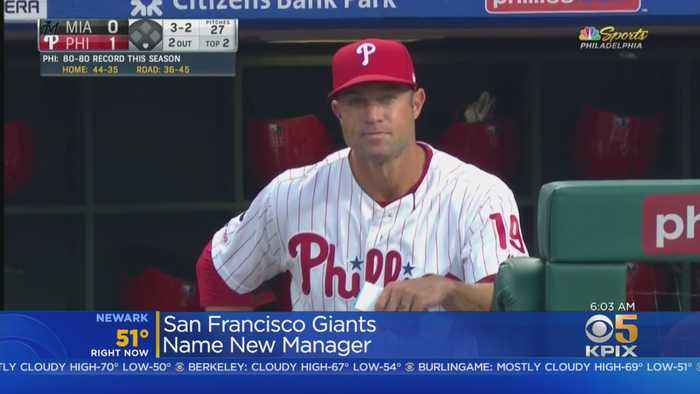 Giants Name Gabe Kapler As New Manager