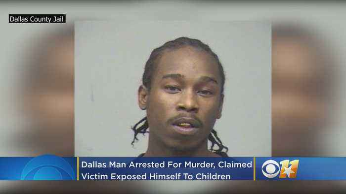 Dallas Man Arrested For Murder, Claimed Victim Exposed Himself To Children