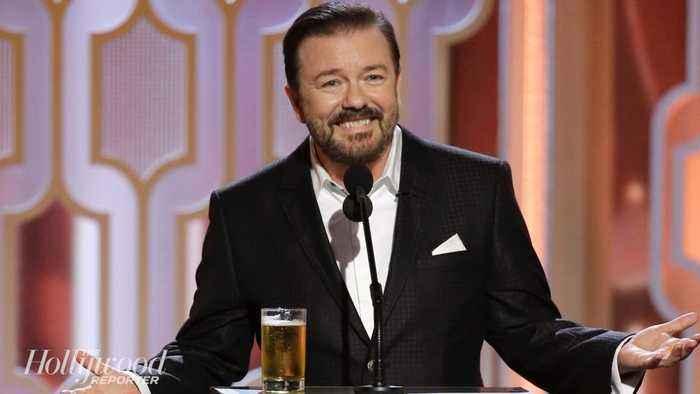 Ricky Gervais Set to Host 2020 Golden Globes | THR News