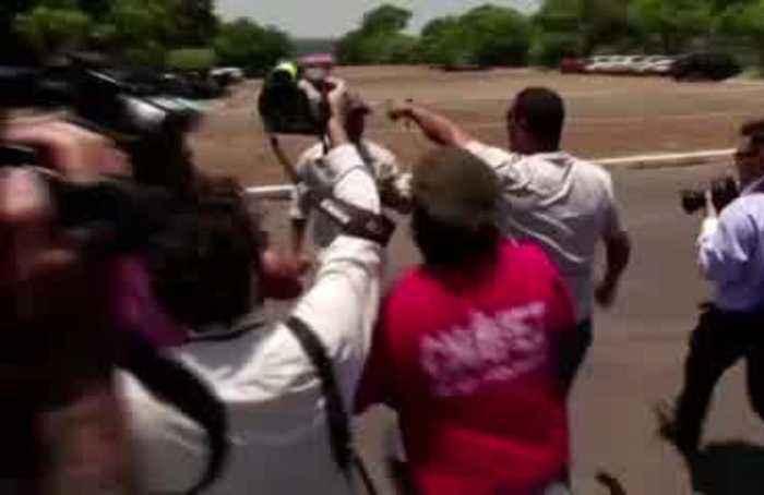 Guaido backers access Venezuela embassy in Brasilia