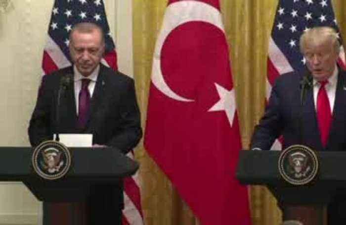Trump had 'wonderful' meeting with Erdogan
