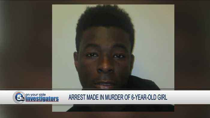 Suspect charged for death of 6-year-old girl who was shot in Cleveland in early October