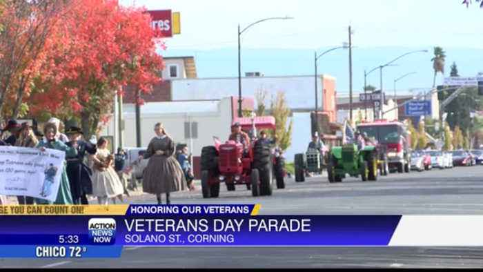 Veterans Day Parade in Corning