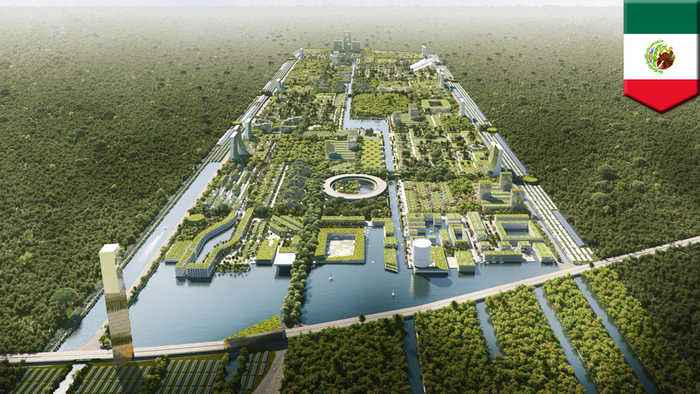 Plans unveiled for Smart Forest City in Cancun, Mexico