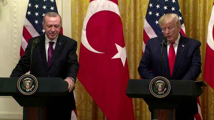 Trump had 'wonderful' meeting with Erdogan