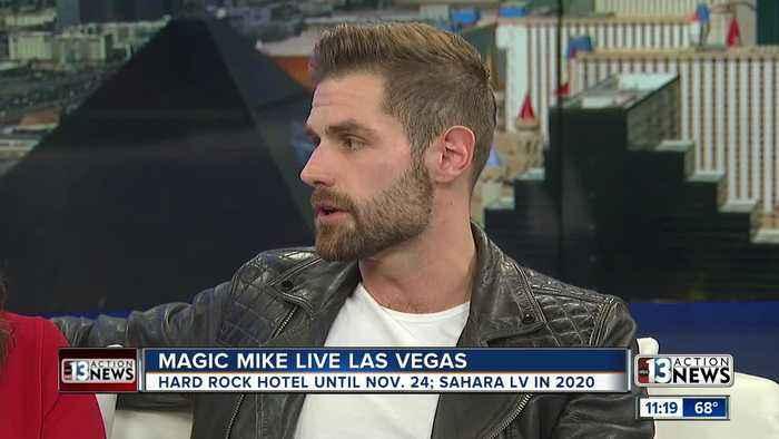Magic Mike Live Las Vegas transitioning to Sahara Las Vegas