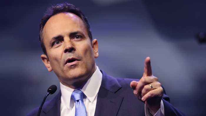 Incumbent Matt Bevin Concedes In Kentucky Governor's Race