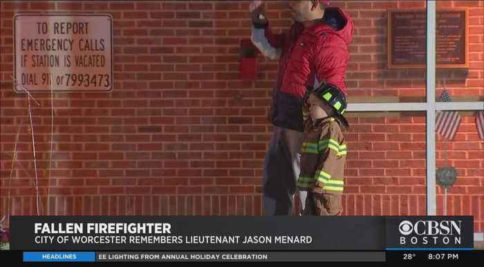 Remembering Fallen Worcester Firefighter