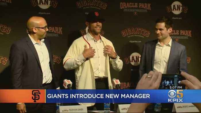 Controversy Surrounds Gabe Kapler's Introduction As SF Giants Manager