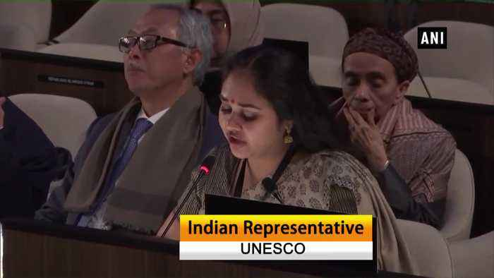 UNESCO General Conference India responds to Pakistan Minister propoganda on Kashmir Ayodhya