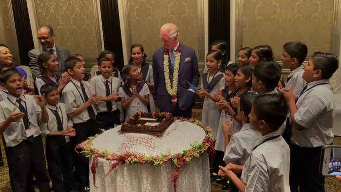 Charles enjoys birthday celebrations in Mumbai