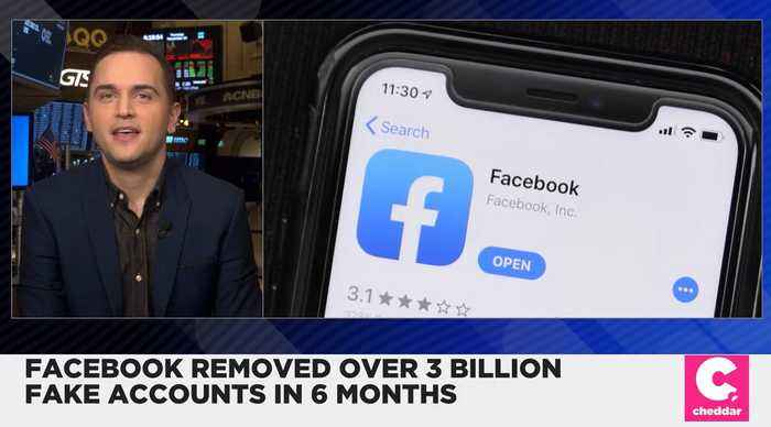 Facebook Removed Over 3 Billion Fake Accounts