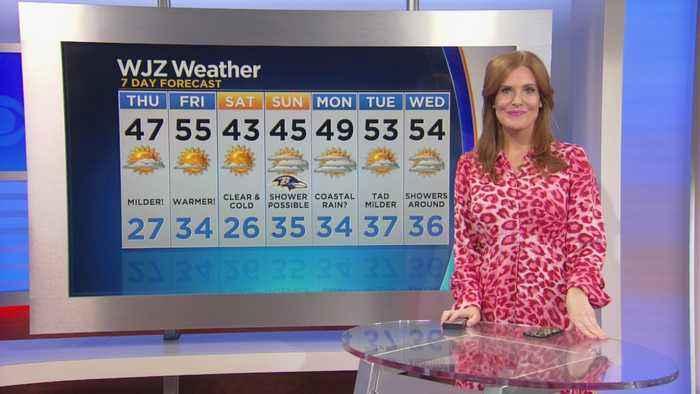 Meg McNamara Has A Look At Your Thursday Afternoon Forecast