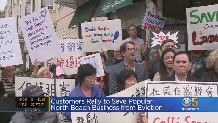 Cafe In San Francisco's North Beach Tries To Fight Off Eviction